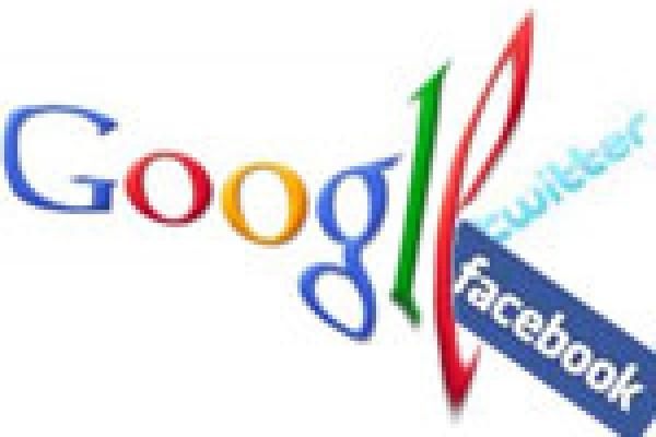 Google Facebook Twitter SEO